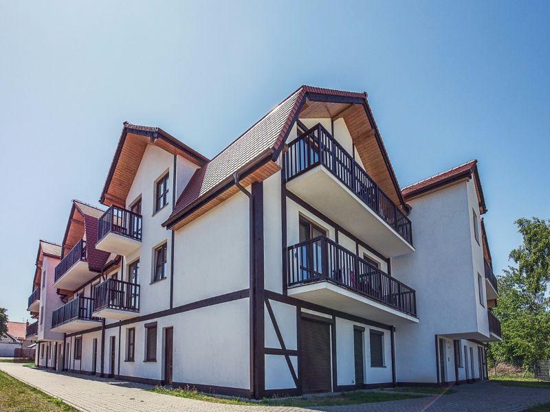 Cudowna Apartamenty nad morzem na sprzedaż - Rowy. Nieruchomości nad Bałtykiem VG47
